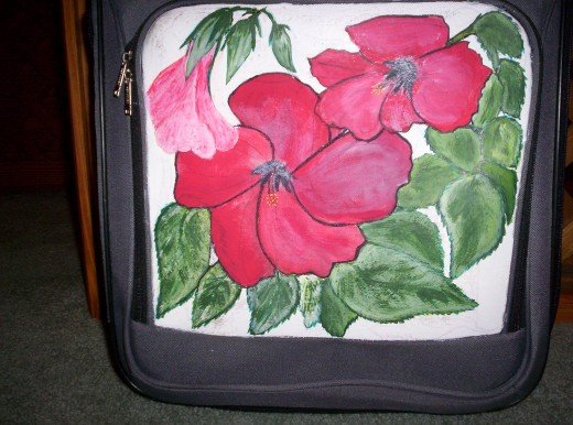 The Hibiscus is one of my favorite flowers, and it is very easy to draw and paint with Acrylic paint.