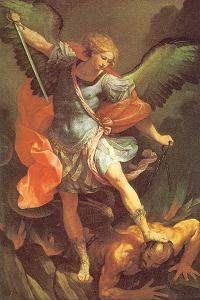 St. Michael's defeat of Satan