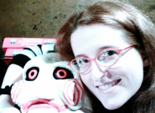 Me with Jigsaw Doll