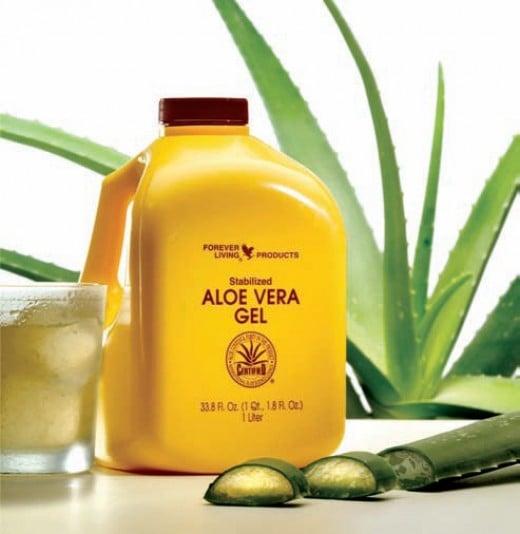 Aloe Vera gel from FLP