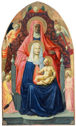 Madonna and Child with St. Anne