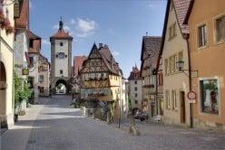 The Romantic Road - Rothenburg ob der Tauber, Germany