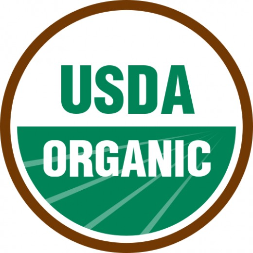 The official seal found on USDA certified organic foods.