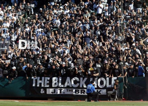 The Black Hole was loud and nasty in the Raiders' win against the Jets. This blogger hopes that will continue Sunday against the Patriots.