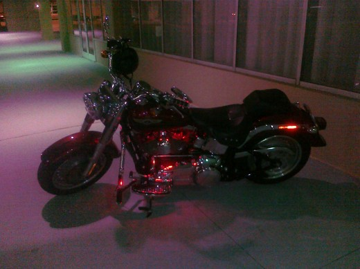 There are always some good looking bikes at the Annual NC Tattoo Convention.