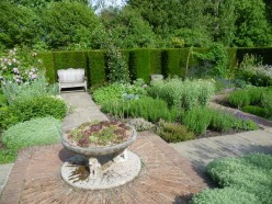 The Herb Garden at Sissinghurst Castle Garden