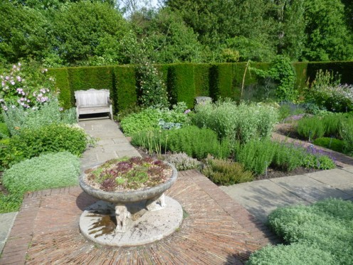 The Herb Garden at Sissinghurst Castle Garden