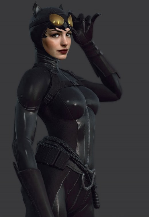 Anne Hathaway: 2012 Catwoman in: The Dark Knight Rises