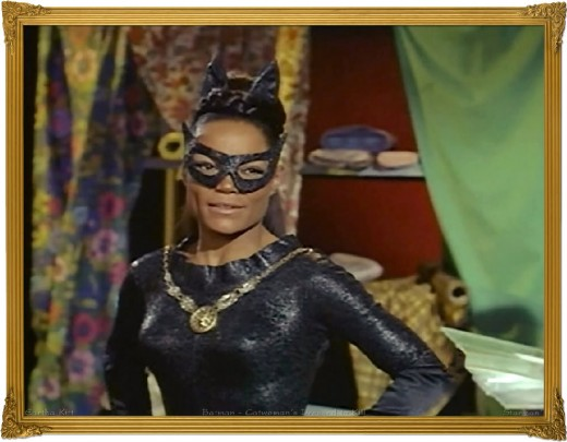 Sultry Catwoman: Eartha Kitt