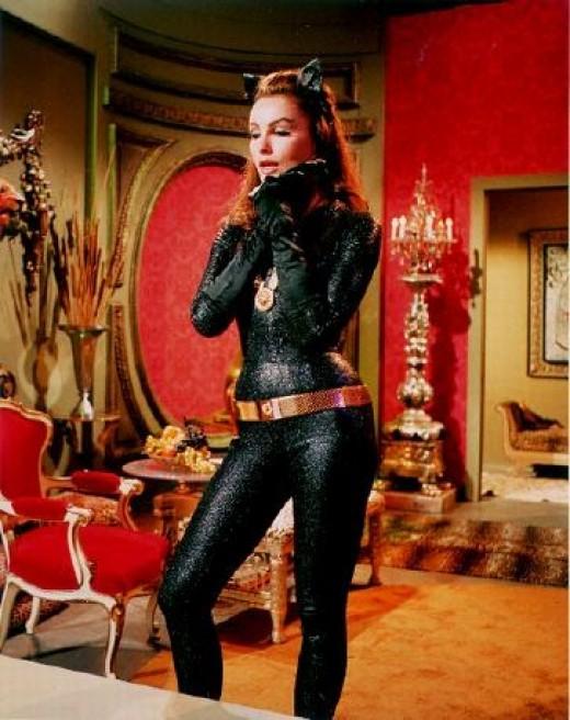 Slinky Catwoman: Julie Newmar