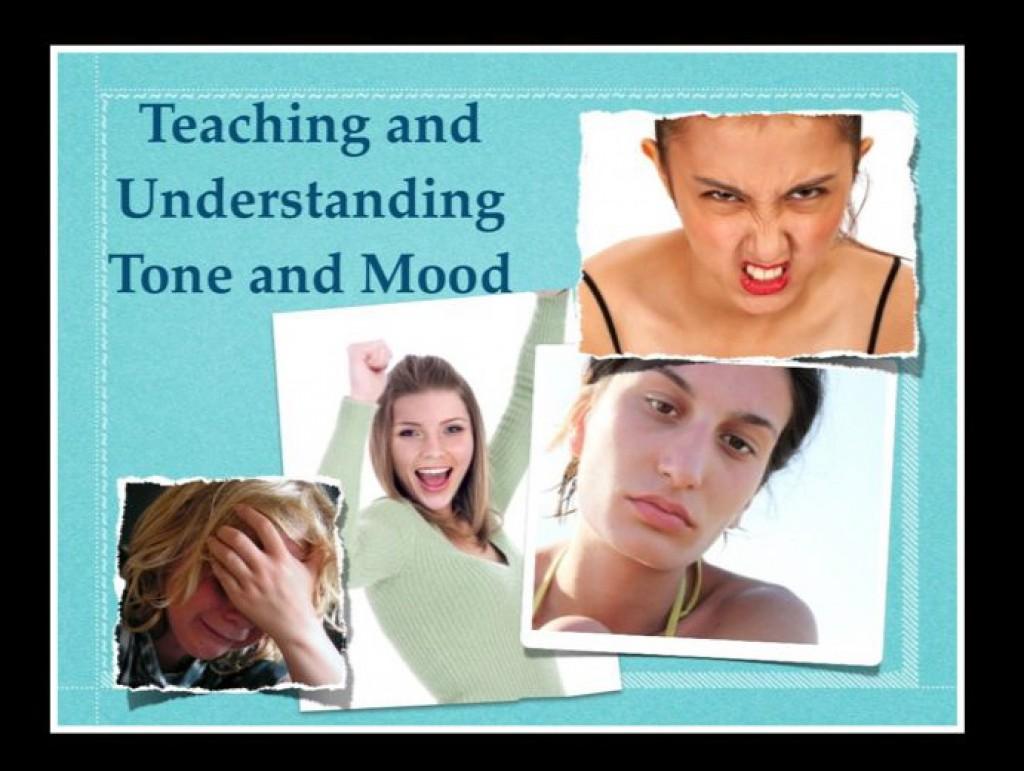 Teaching tone in writing