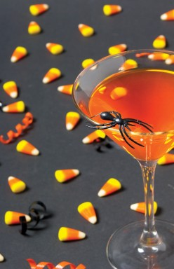 Super Orange Cocktail for Halloween