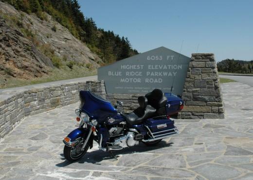Highest Point on Blue Ridge Parkway