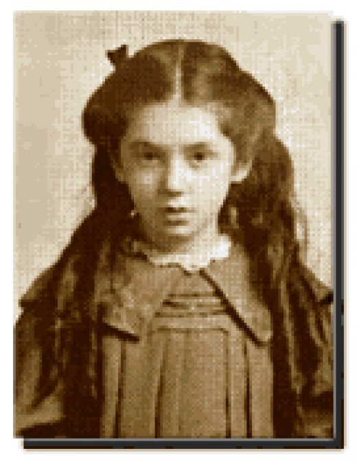 Miss Eva Hart, at age 7.
