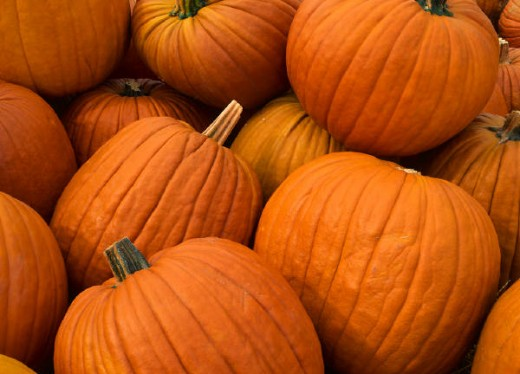 pumpkins for the Halloween workout