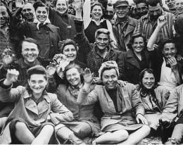 Dachau women's camp when liberated by the U.S. Army
