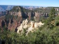 The North Rim of the Grand Canyon Arizona and the Grand Canyon Lodge