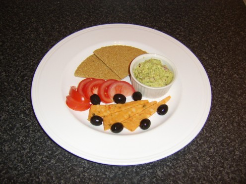 This guacamole, Mexicana cheese and Scottish oatcakes salad is but one of the guacamole serving suggestions you will find on this page