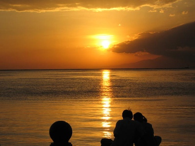 Baywalk Manila Sunset
