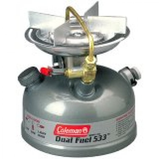 Coleman one-burner dual fuel stove: another good backpacking stove