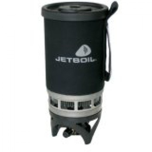 One of the best backpacking stoves for light trekking during summer, and excellent for travel alone: The Jetboil cooking system