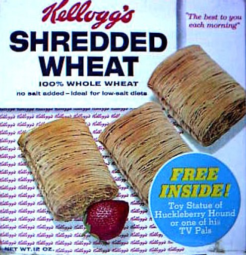 Kellogg's Shredded Wheat.