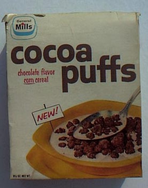 "General Mills Cocoa Puffs without the goofy bird whose, ""I'm cuck-oo for cocoa puffs,"" became a cereal catch-phrase in America."