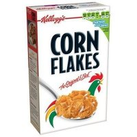 Kellogg's Corn Flakes, my personal favorite. The box with simple design and icon rooster has woke people up of all ages for years telling them to have Kellogg's Corn Flakes for breakfast. Bravo! Kellogg's!