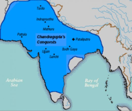 Mauryan Empire, founded by Chandragupt Maurya