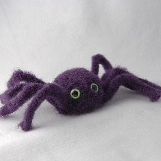 Spiders are sweet and cuddly.