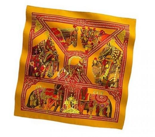 fake hermes shawl
