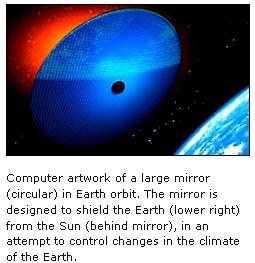 SPACE REFLECTORS