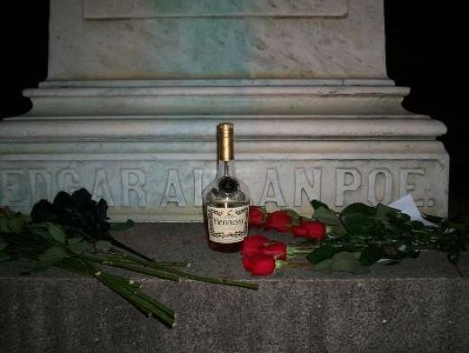Edgar Allan Poe's grave