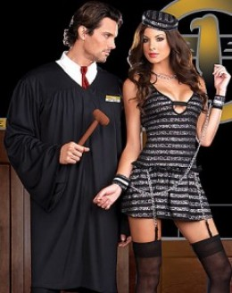 Here you can see one of the halloween costumes 2011 for him and her.
