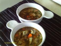 Cooking Thai Food-Shrimp Thai Soup