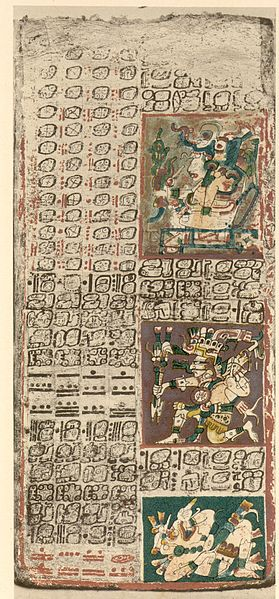 The Dresden Codex, pg. 49