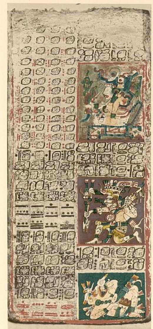The Dresden Codex, pg. 49