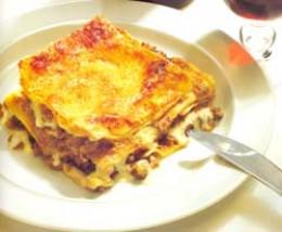 Vincigrassi lasagna