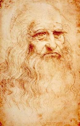 Leonardo Da Vinci, self portrait
