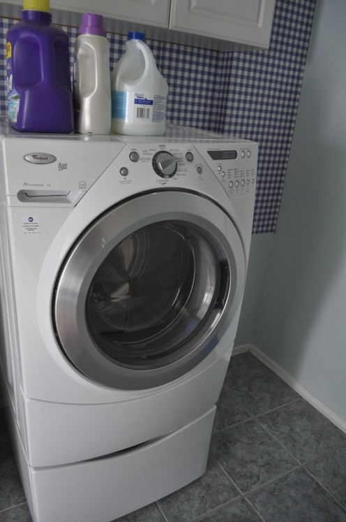 With a brand new washer and dryer, barely a year old, after moving recently, we realized we had a problem. The dryer was electric and the house supported a gas dryer only.
