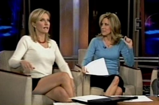 Hot angry conservative anchors on FOX News
