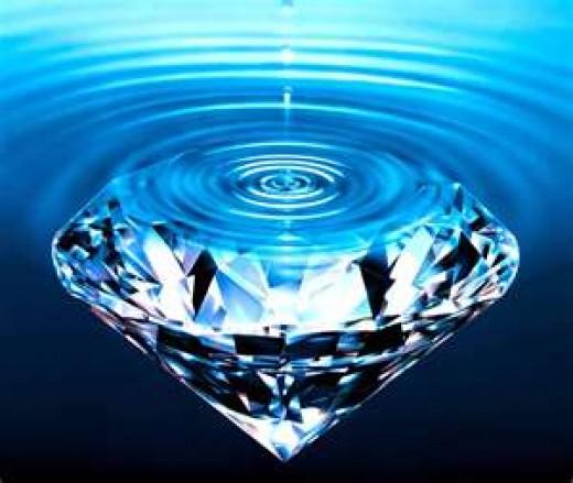 Diamonds or Water
