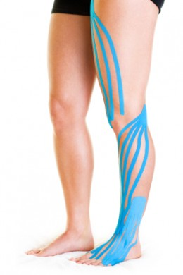 Healing Muscle Injuries Faster with Kinesio Tape