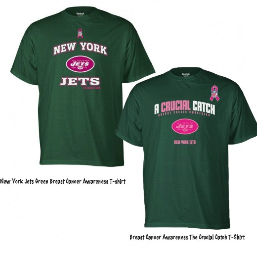 New York Jets 2011 Crucial Catch Tee Shirts