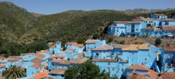 Juzcar, Andalucia, The Blue Painted Smurf Village in Spain