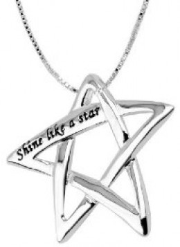 Shine a star from your neck.