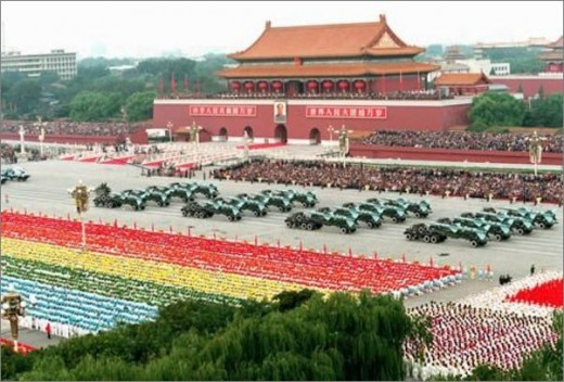 Tian An Men Sqare on 60th National Day