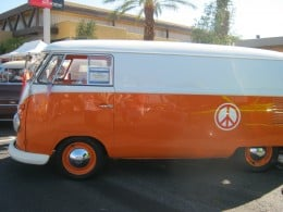 "An old VW ""bus"" ~ Hippie Chic at its finest!"