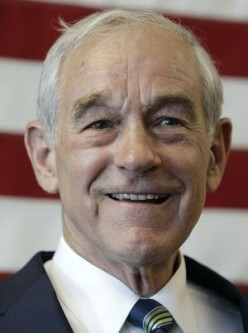 American Congressman Ron Paul
