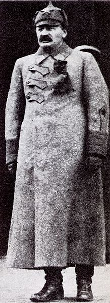 Leon Trotsky in uniform (Soviet general)
